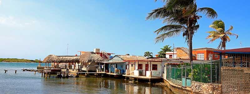 Baracoa et ses maisons pilotis